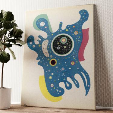 Sterne Wandbild personalisiert