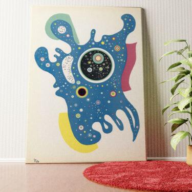 Personalisiertes Wandbild Sterne