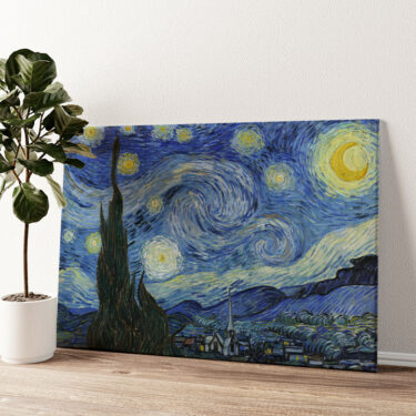 Sternennacht Wandbild personalisiert