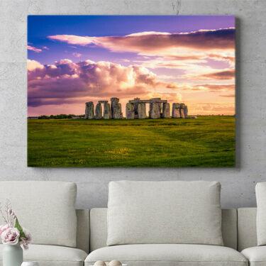 Personalisierbares Geschenk Stonehenge