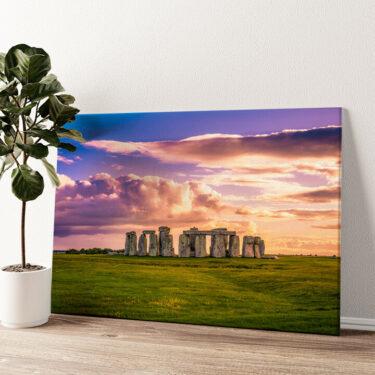 Stonehenge Wandbild personalisiert