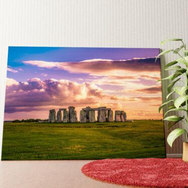 Personalisiertes Wandbild Stonehenge