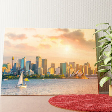 Personalisiertes Wandbild Sydney Skyline