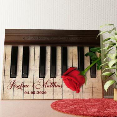 Personalisiertes Wandbild Symphonie der Herzen
