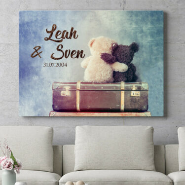 Personalisierbares Geschenk Teddybears