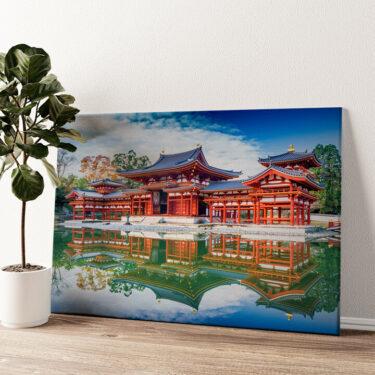 Tempel Uji Kyoto Japan Wandbild personalisiert