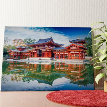 Personalisiertes Wandbild Tempel Uji Kyoto Japan