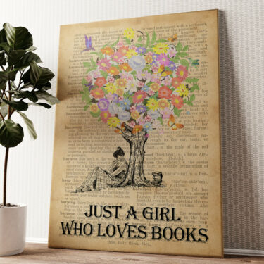 Tree of Books Wandbild personalisiert