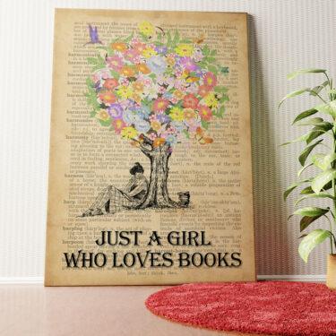 Personalisiertes Wandbild Tree of Books