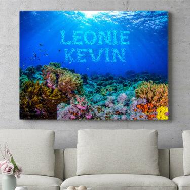 Personalisierbares Geschenk Under the Sea
