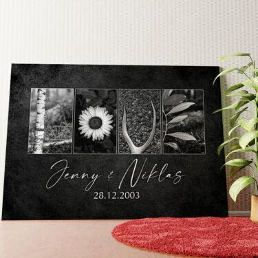 Personalisiertes Wandbild Waldgeflüster