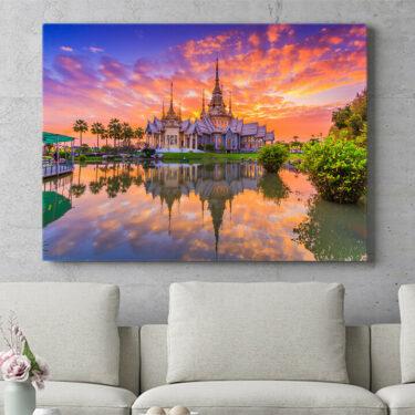 Personalisierbares Geschenk Wat Kheine Kum Tempel