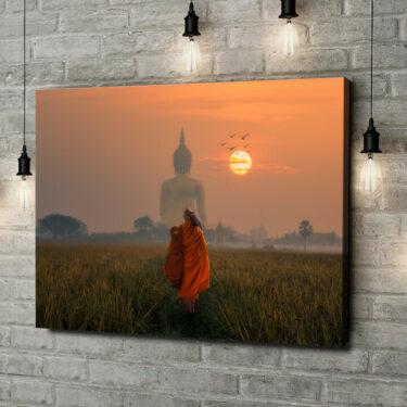 Leinwandbild personalisiert Wat Muang Angthong Tempel