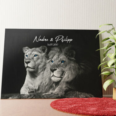 Personalisiertes Wandbild Wild Love