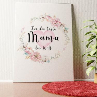 Personalisiertes Wandbild Zum Muttertag