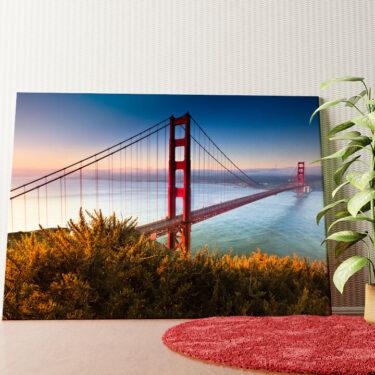 Personalisiertes Wandbild San Francisco Golden Gate Bridge