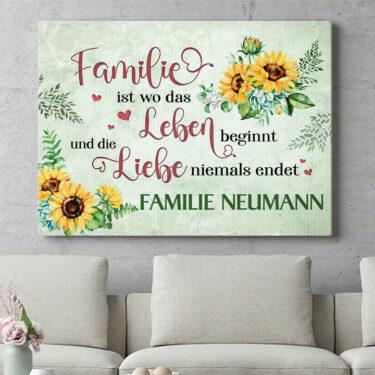 Personalisierbares Geschenk Liebe & Leben